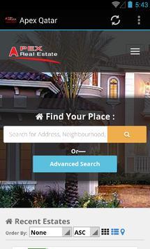 Apex Qatar - Real Estate poster