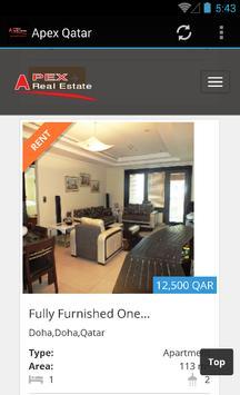 Apex Qatar - Real Estate apk screenshot