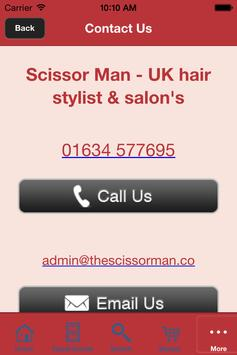 Scissor Man – UK hair stylist apk screenshot