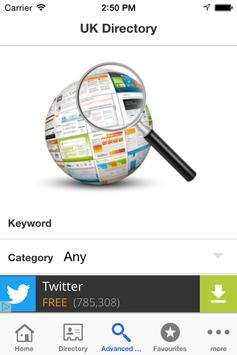 UK Directory apk screenshot