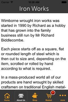 Wimborne Wrought Iron Works apk screenshot