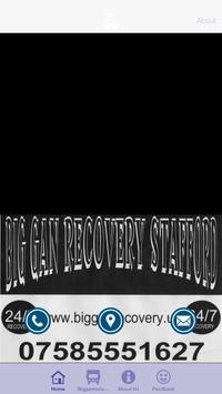 BIG GAN RECOVERY STAFFORD poster