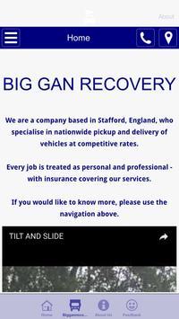 BIG GAN RECOVERY STAFFORD apk screenshot