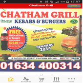 Chatham Grill ME4 icon