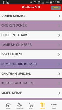 Chatham Grill ME4 apk screenshot