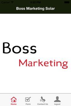 Boss Marketing Solar poster