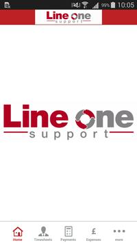 Line One Support poster