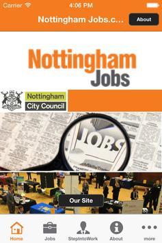 Nottingham Jobs.com poster