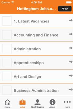 Nottingham Jobs.com apk screenshot
