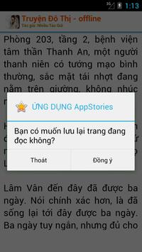 Truyện Đô Thị Offline apk screenshot