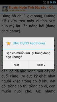 Truyện Ngôn Tình - Offline Hay apk screenshot
