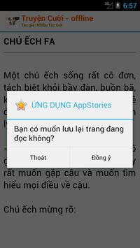 Truyện Cười - Offline Siêu hài apk screenshot