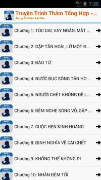 Truyện Trinh Thám Offline apk screenshot