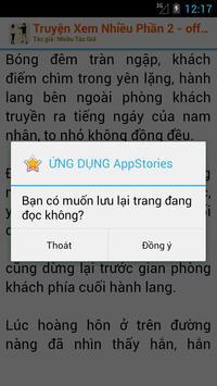Truyện Xem Nhiều Phần 2 OFF apk screenshot