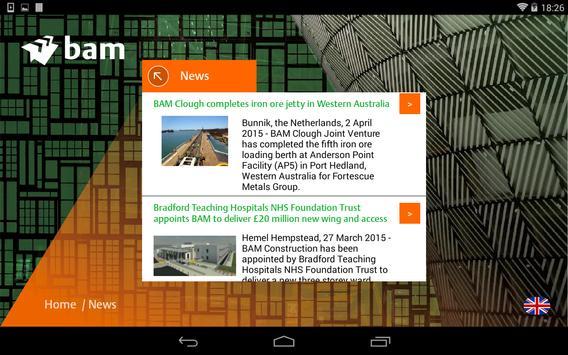 BAM Reports apk screenshot