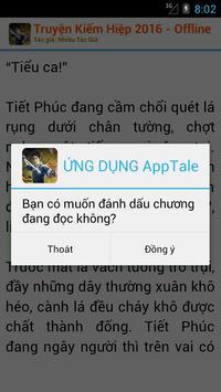 Truyện Kiếm Hiệp 2016 OFFLINE apk screenshot