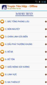 Truyện Tiên Hiệp 2016 Offline apk screenshot