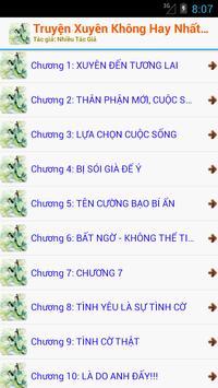 Tiểu Thuyết Xuyên Không OFF apk screenshot