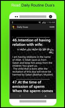 Daily Routine Dua's apk screenshot