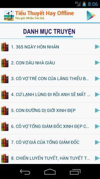 Tiểu Thuyết Offline apk screenshot