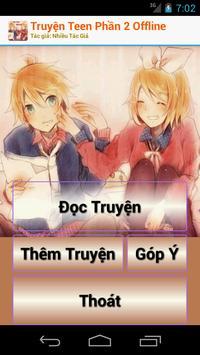 Truyện Teen Phần 2 Offline poster