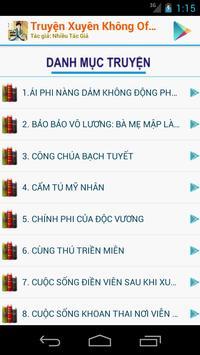 Truyện Xuyên Không P3- Offline apk screenshot
