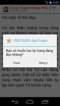 Truyện Xuyên Không Phần 2 apk screenshot