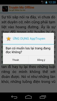 Truyện Ma offline apk screenshot
