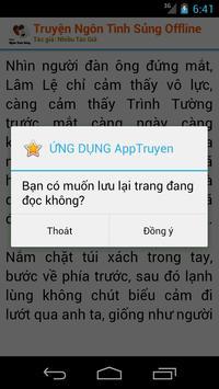 Truyện Ngôn Tình Sủng -Offline apk screenshot