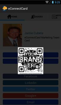eConnectCard | Business Cards apk screenshot
