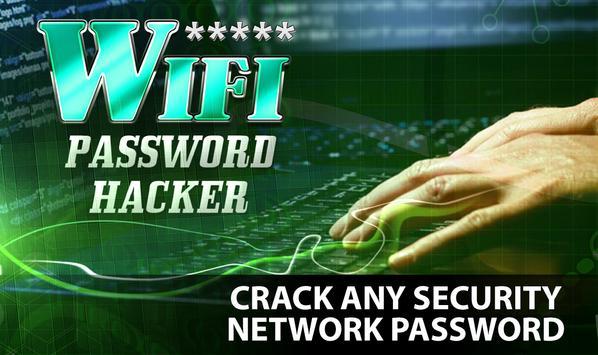 wifi password cracker (prank) poster