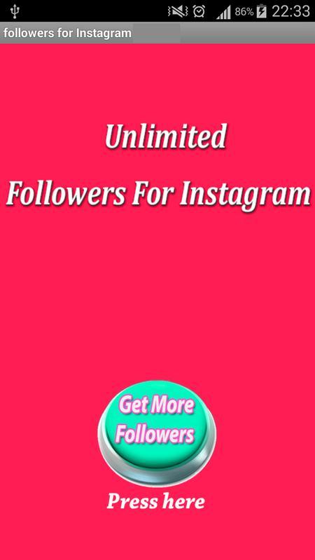 Followers for Instagram prank APK Download - Free