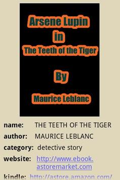 The Teeth of the Tiger poster