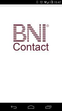 BNI Contact poster