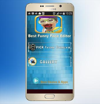 Best Funny face editor poster