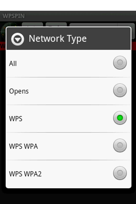 WPSPIN. WPS Wireless Scanner. APK Download - Free Tools ...