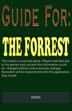 Guide for The Forest poster