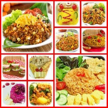 Buku Resep Nasi Goreng Terbaru apk screenshot