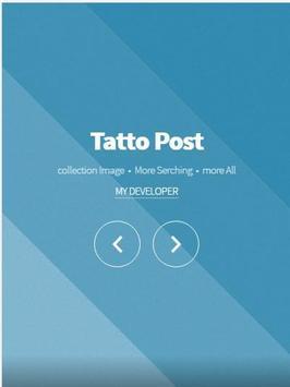tatto post ideas poster