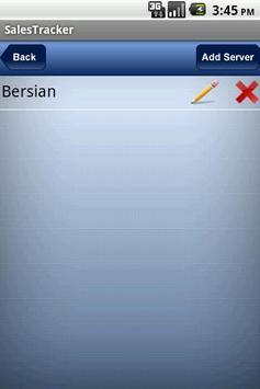 Bersian Sales Tracker apk screenshot