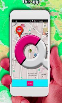 Pokelocator-Pokemon Go Map poster