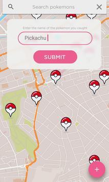 Pokelocator-Pokemon Go Map apk screenshot