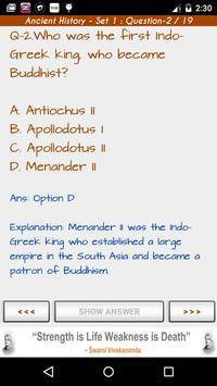 Great Indian History - IAS IPS apk screenshot