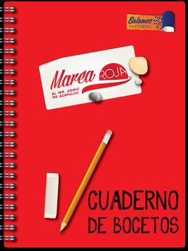 Marea Roja: Sketchbook poster