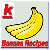 banana recipes icon