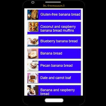 banana recipes apk screenshot