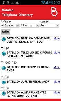 Batelco Directory 181 apk screenshot