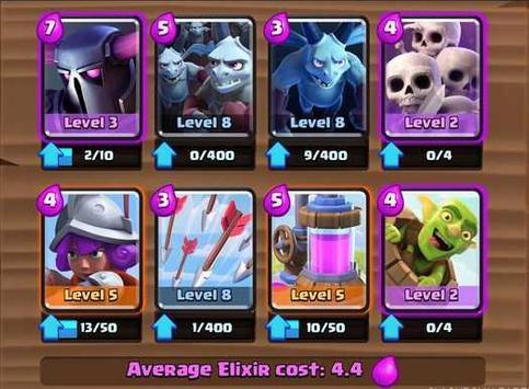 Battle Deck Clash Royale apk screenshot