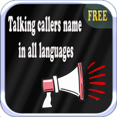 Talking Callers Name icon