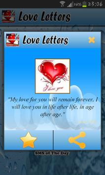 Love Letters Status and SMS apk screenshot